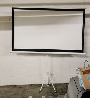 Da-Lite Picture King projection screen with tripod - 106 in for Sale in Newport Beach, CA