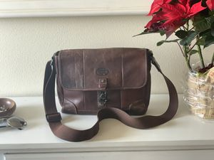 Fossil Messenger leather bag for Sale in Phoenix, AZ