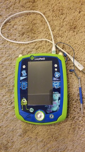 Leap pad 2 monsters inc. for Sale in Columbus, OH