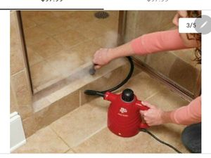 Available Now if You are Viewing -Want to kill Germs, etc..Killem with hot steam - Nearly New Hand Held Dirt Devil Steam Cleaner - With Attachments for Sale in Phoenix, AZ