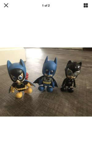 Batman batgirl and catwoman cutie action figures for Sale in Sacramento, CA