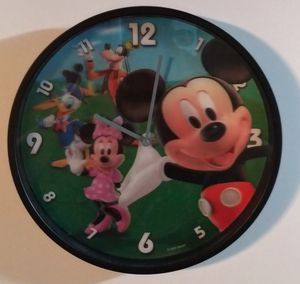 Disney's Mickey Mouse 3D Quartz Wall Clock for Sale in Charlotte, NC