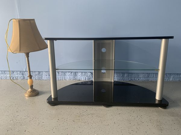 Tv stand and Night lamp