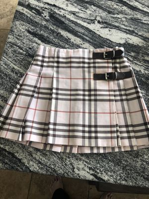 Burberry skirt size 5 girls for Sale in San Diego, CA