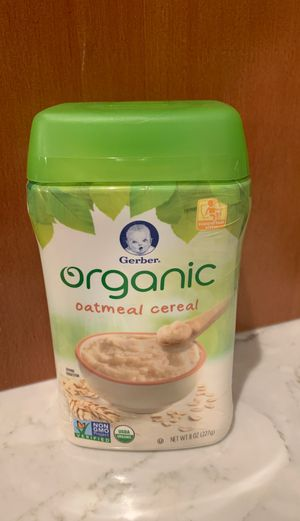 Gerber Organic Oatmeal Cereal for Sale in Federal Way, WA
