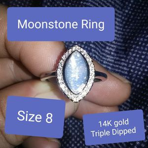 Moonstone ring size8 NWT for Sale in Doubs, MD