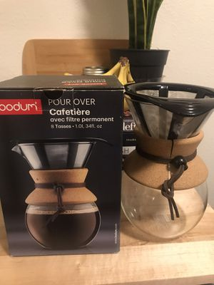 Bodum pour over coffee maker for Sale in Bend, OR