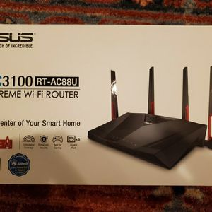 Asus RT-AC88U for Sale in New Lenox, IL