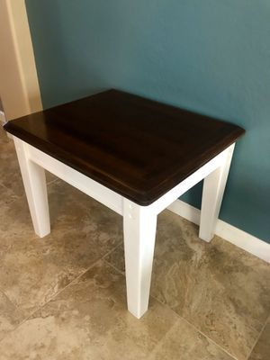 Solid Wood End or Side Table for Sale in Gilbert, AZ