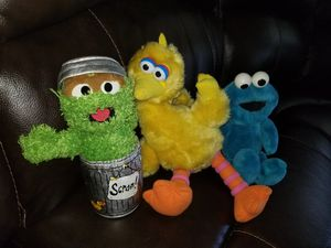 Sesame street plush bundle for Sale in Mesa, AZ
