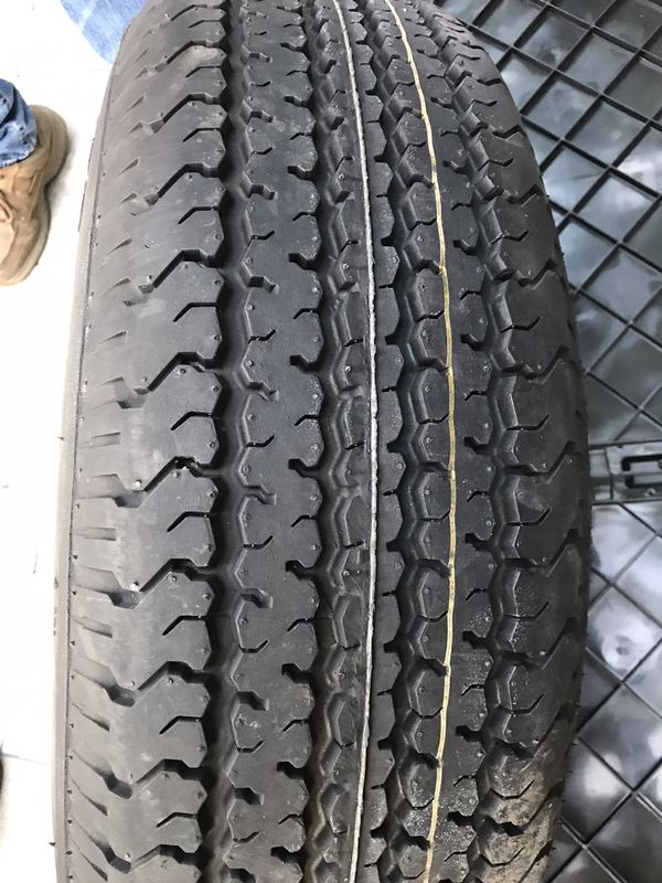 """Trailer tire/rim NEW 15"""""""