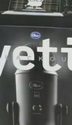 Blue Yeti Microphone Black Out Edition for Sale in La Puente,  CA