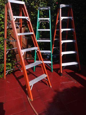 6 ft ladders in great shape for Sale in Gardena, CA