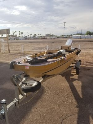 1970 Ouachita 169 with 50hp outboard for Sale in Mesa, AZ