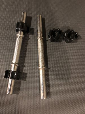 Dumbbells with Clamps for Sale in Columbus, OH