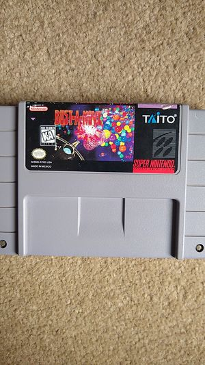 Bust-A-Move Super Nintendo (SNES) Authentic for Sale in Lynnwood, WA