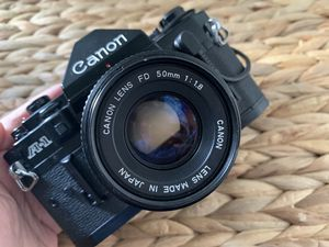 Canon A1 film camera for Sale in North Salt Lake, UT