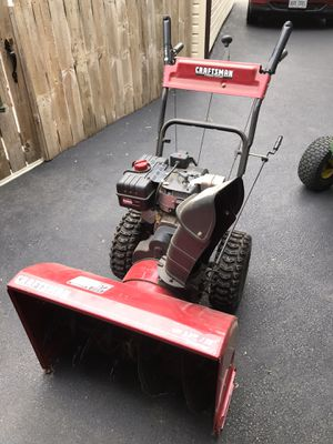 Craftsman snowblower for Sale in Holland, OH