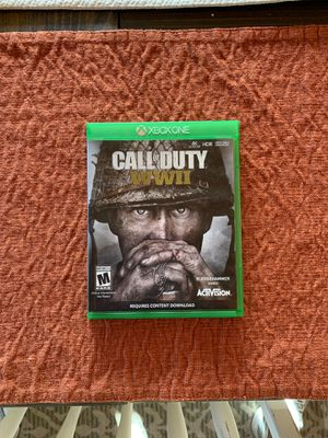 Call of Duty WW2 for Sale in Tuscola, TX