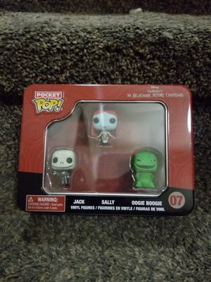 Pocket pop nightmare before Christmas jack Sally boogie boogie for Sale in Kyle, TX