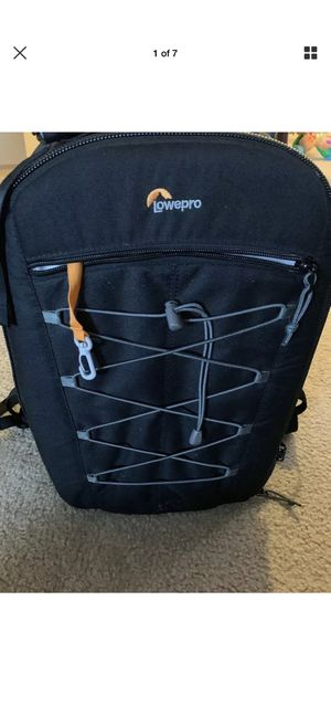 Lowepro photo classic bp 300 aw high- capacity dslr camera back pack-blAck for Sale in Hillsboro, OR