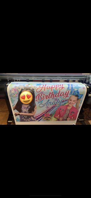 Publicidad banner magnéticos ventanas para tu negocio camisas personalizadas for Sale in Houston, TX