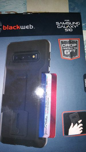 Samsung galaxy s10 case black for Sale in Phoenix, AZ