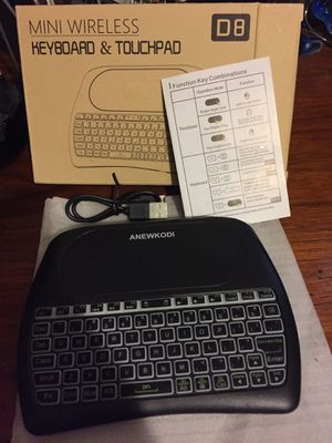Mini wireless keyboard & touchpad for Sale in Deerfield Beach, FL