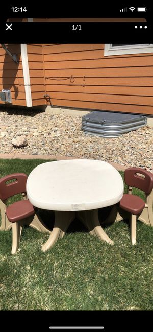 Step 2 kids table and chairs for Sale in Littleton, CO