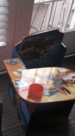 PAW Patrol Desk for kids children - Perfect for Homeschooling and Studying for Sale in Stone Ridge, VA