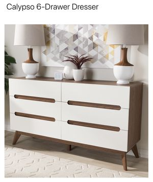 Macy's Mid-Century Modern Dresser and Nightstand for Sale in Dallas, TX