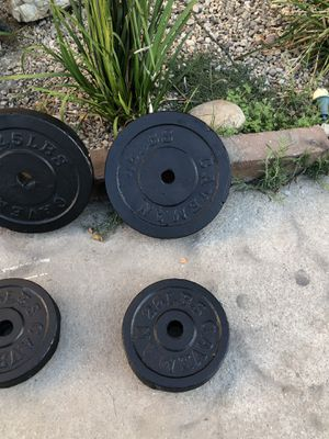 Olympic weight set for Sale in Commerce, CA