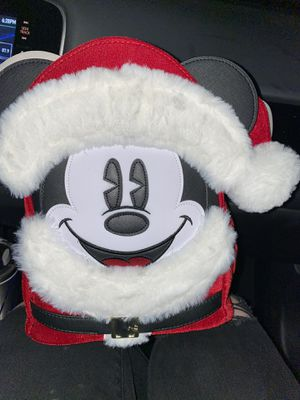 Santa Mickey loungefly backpack for Sale in Bakersfield, CA