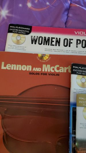 Four music books for a violinist for Sale in Land O Lakes, FL