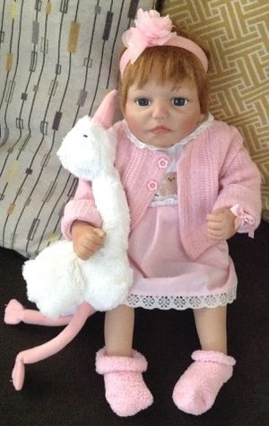 Silicone baby doll for Sale in Las Vegas, NV