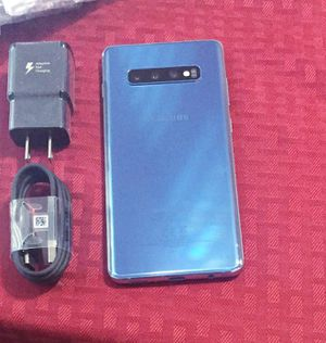 """Samsung Galaxy S10+ ,,Factory UNLOCKED Excellent CONDITION """"as like nEW"""" for Sale in West Springfield, VA"""