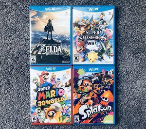 Nintendo Wii U Games for Sale in Cambridge, MA