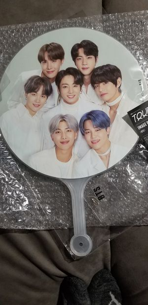 BTS Map of Soul : Tour BTS photo picket OFFICIAL WEVERSE for Sale in San Bernardino, CA