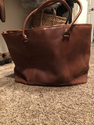 LL Bean Leather Tote Bag for Sale in Westlake Village, CA
