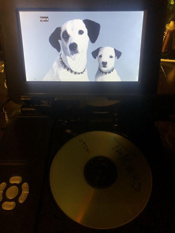 RCA DVD PORTABLE PLAYER