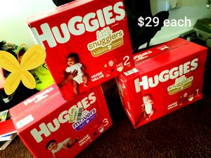 Huggies little movers and huggies little snugglers for Sale in Willowbrook, IL