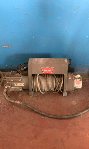 Warn xd9000i winch for Sale in Norwalk, CA