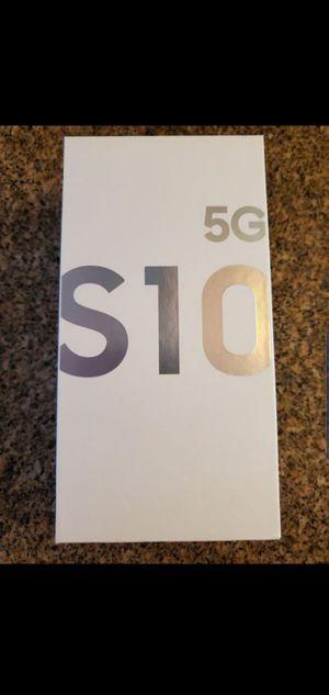VERIZON/UNLOCKED GALAXY S10 5G. 512GB. BLACK for Sale in Pico Rivera, CA