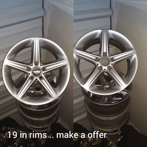19 in rims no tires came off a BMW for Sale in Nashville, TN