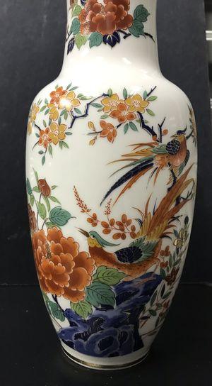 Beautiful Kutani vase oriental garden collection for Sale in Lakewood, CO