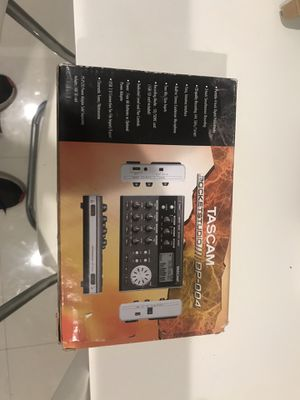 Tascam pocket studio dp004 for Sale in Pembroke Pines, FL