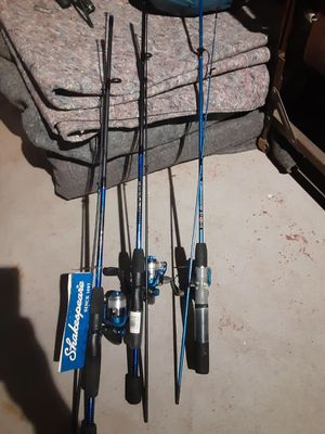 Fishing poles n reels for Sale in Providence, RI