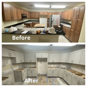 Kitchen Cabinets Paint Job (labor and materials included) for Sale in Miami, FL