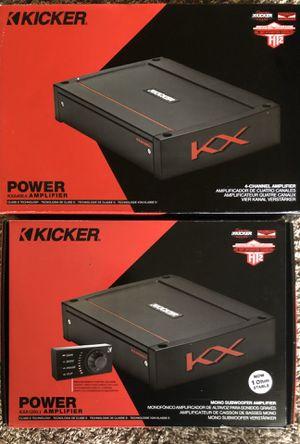 Kicker amps for Sale in Auburn, WA