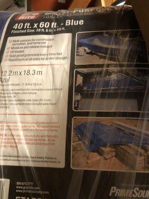 Blue tarp 40'x60' for Sale in Hoffman Estates, IL